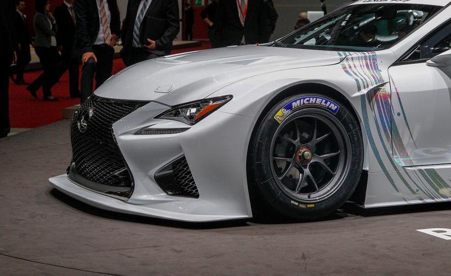 Lexus RC F GT3 concept - Slide 18