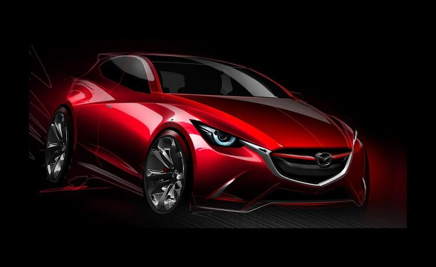 Mazda Hazumi concept - Slide 31