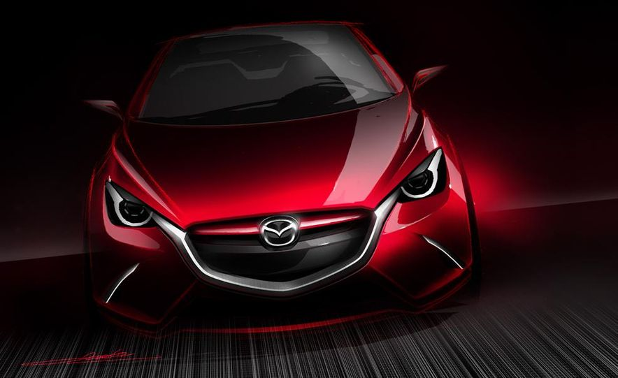 Mazda Hazumi concept - Slide 32