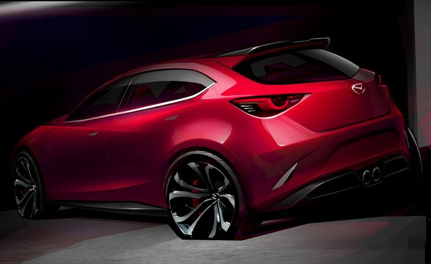 Mazda Hazumi concept - Slide 34