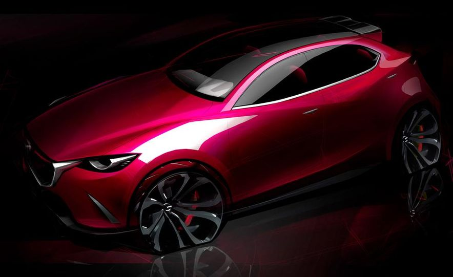 Mazda Hazumi concept - Slide 35