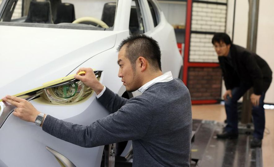 Mazda Hazumi concept - Slide 27