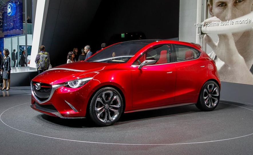 Mazda Hazumi concept - Slide 52