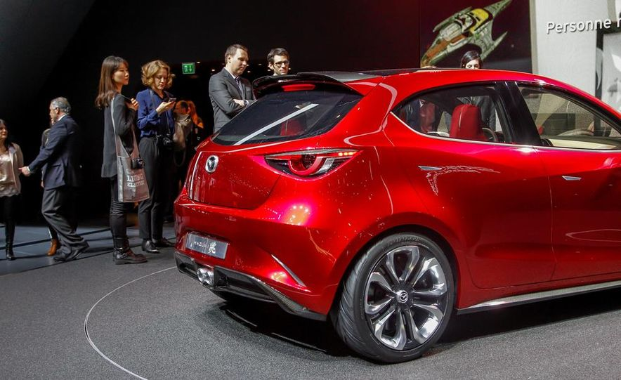 Mazda Hazumi concept - Slide 65