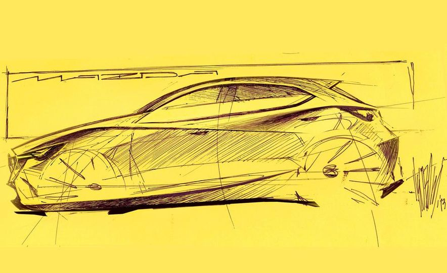 Mazda Hazumi concept - Slide 40