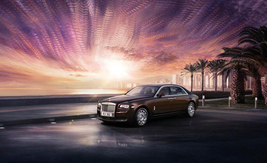 2015 Rolls-Royce Ghost Series II - Slide 21