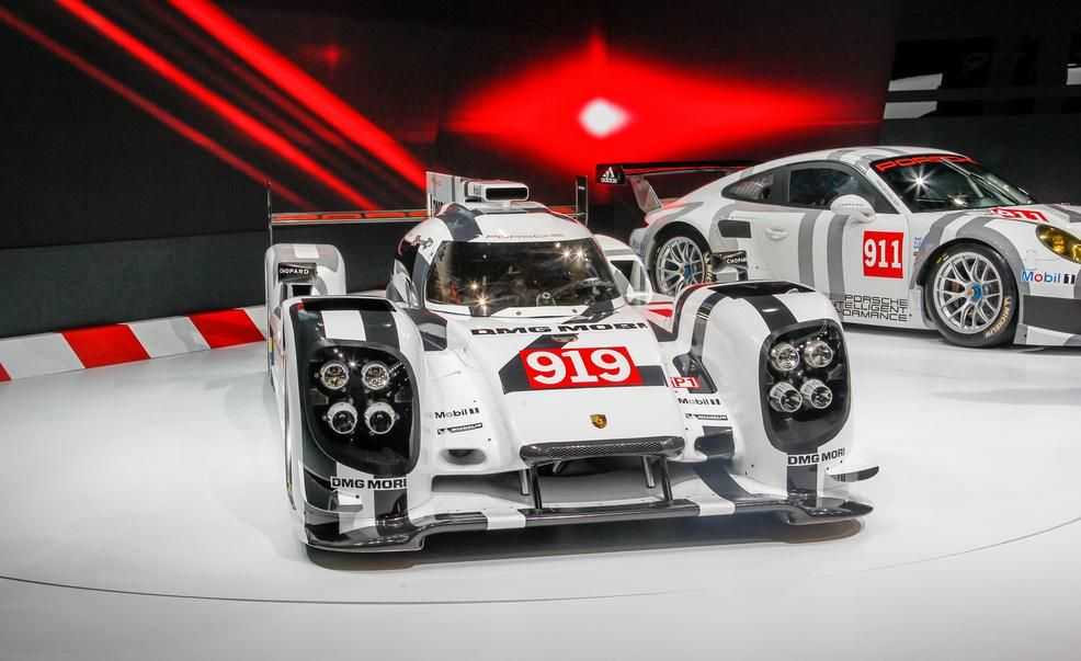 Porsche 919 Hybrid Le Mans Prototype – Auto Shows – Car and Driver