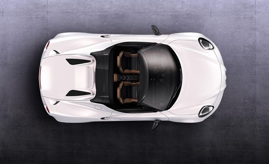 2015 Alfa Romeo 4C Spider - Slide 31