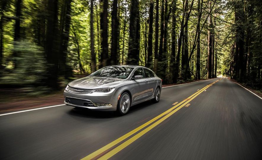 2015 Chrysler 200 - Slide 1