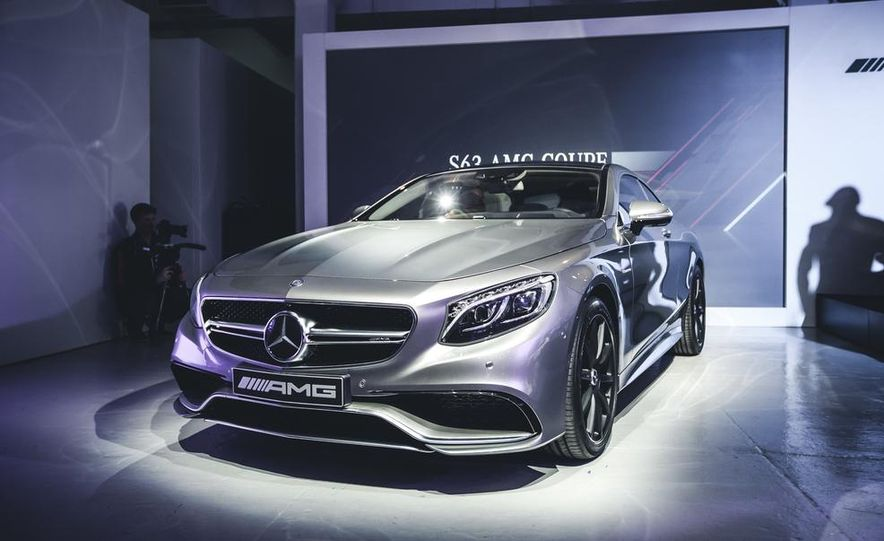 2015 Mercedes-Benz S63 AMG 4MATIC coupe - Slide 1