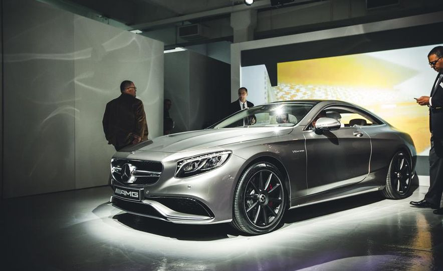 2015 Mercedes-Benz S63 AMG 4MATIC coupe - Slide 2