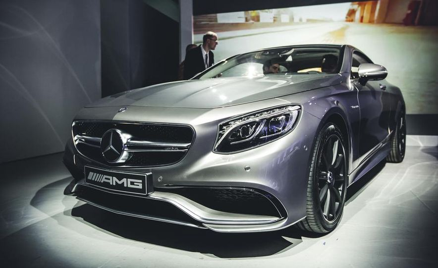 2015 Mercedes-Benz S63 AMG 4MATIC coupe - Slide 3