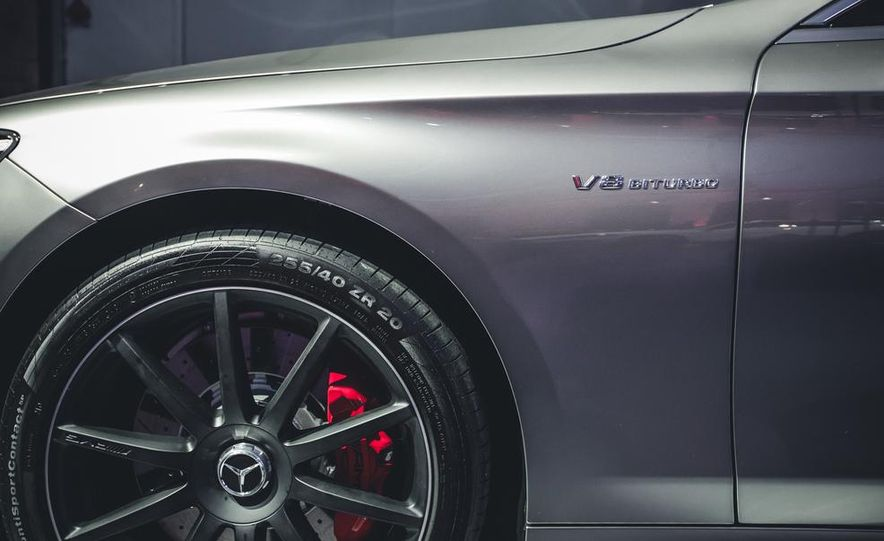 2015 Mercedes-Benz S63 AMG 4MATIC coupe - Slide 7