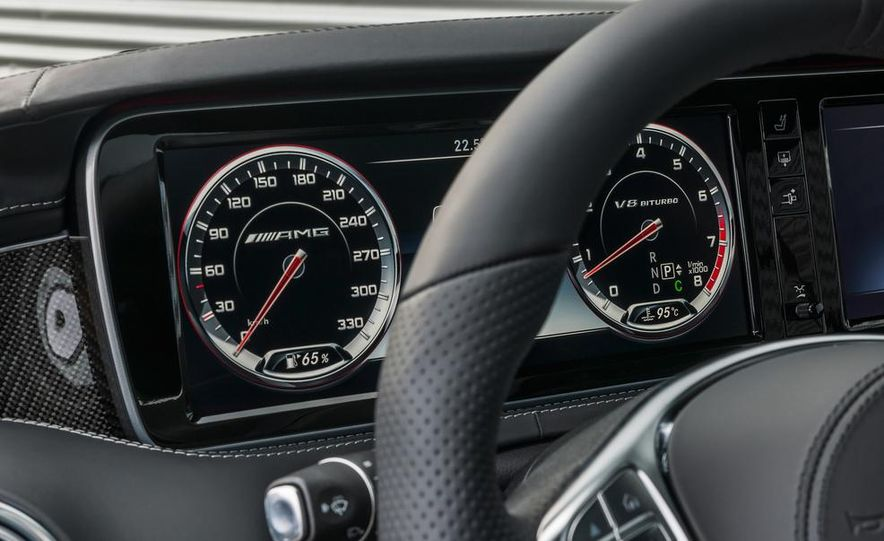 2015 Mercedes-Benz S63 AMG 4MATIC coupe - Slide 37