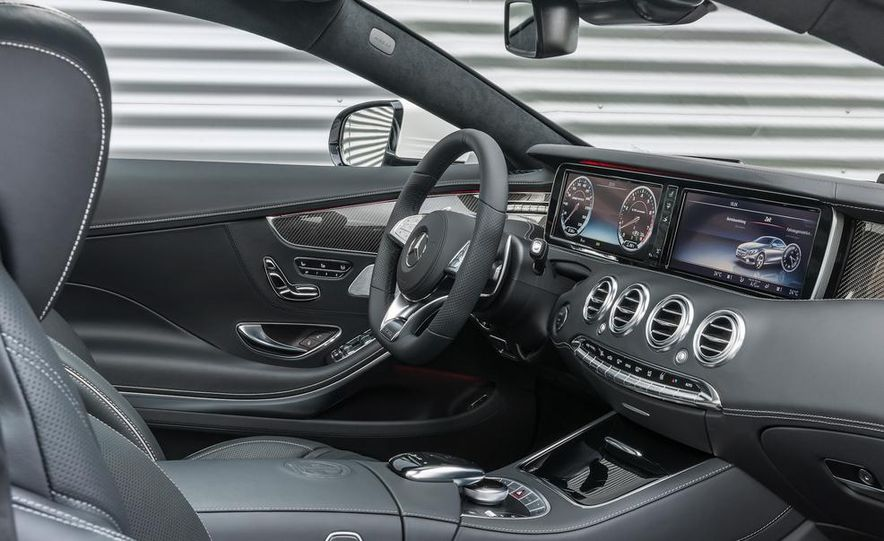 2015 Mercedes-Benz S63 AMG 4MATIC coupe - Slide 36
