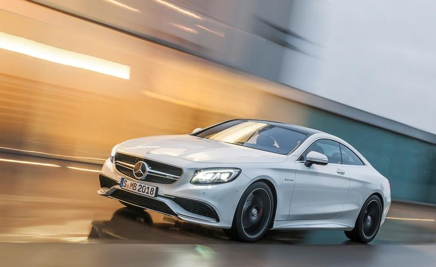 2015 Mercedes-Benz S63 AMG 4MATIC coupe - Slide 18