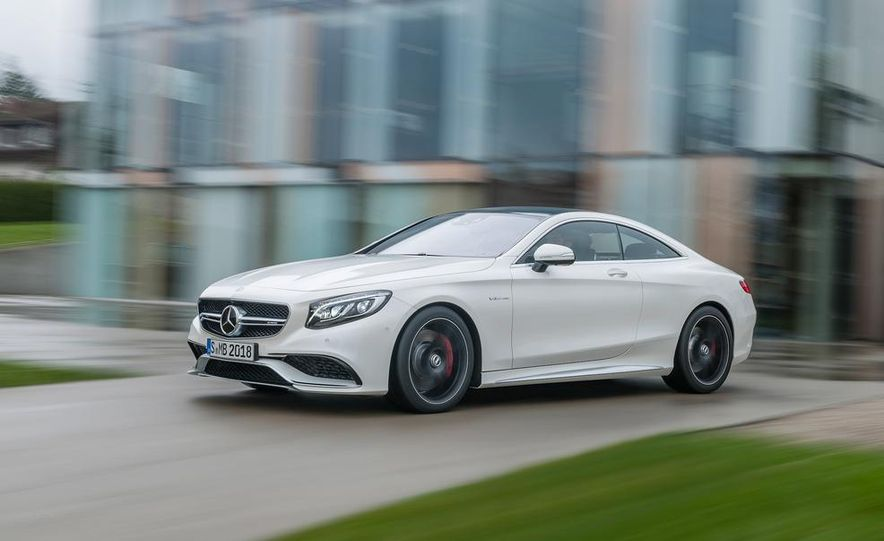2015 Mercedes-Benz S63 AMG 4MATIC coupe - Slide 19