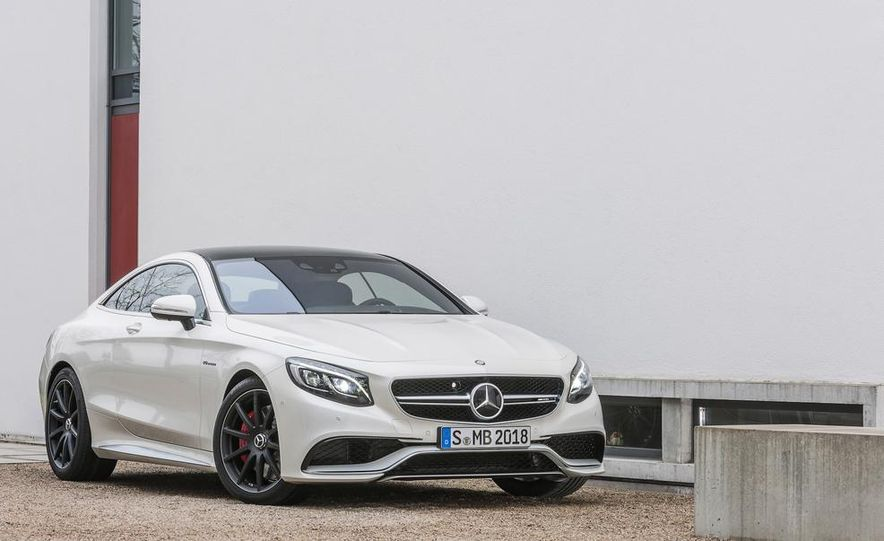 2015 Mercedes-Benz S63 AMG 4MATIC coupe - Slide 22