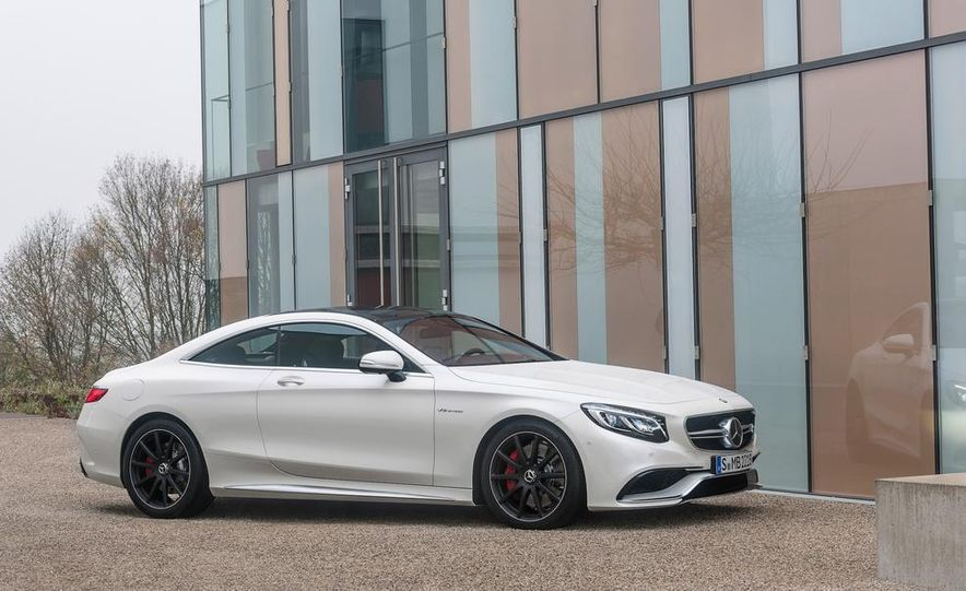 2015 Mercedes-Benz S63 AMG 4MATIC coupe - Slide 24