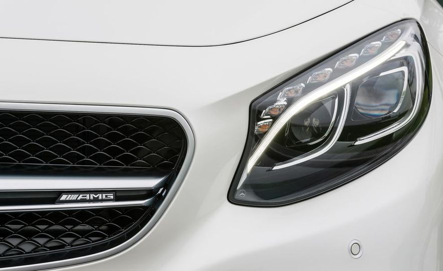 2015 Mercedes-Benz S63 AMG 4MATIC coupe - Slide 28