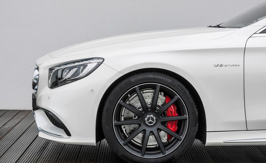 2015 Mercedes-Benz S63 AMG 4MATIC coupe - Slide 30