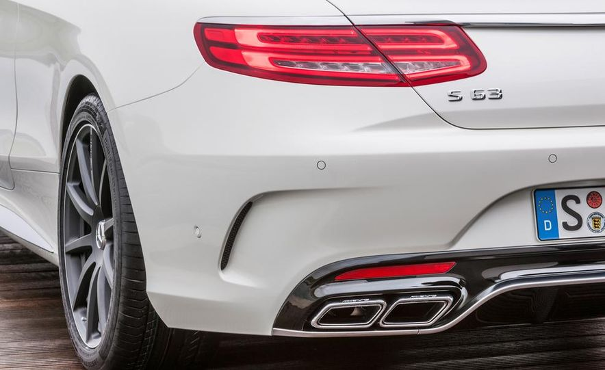 2015 Mercedes-Benz S63 AMG 4MATIC coupe - Slide 32