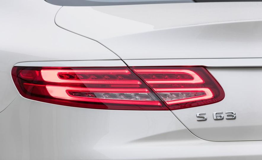 2015 Mercedes-Benz S63 AMG 4MATIC coupe - Slide 33