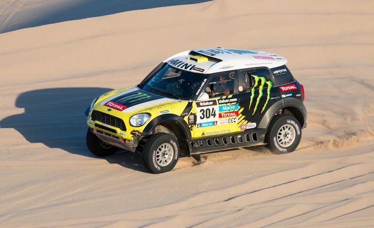 Mini Cooper Countryman ALL4 Racing Dakar Rally Car