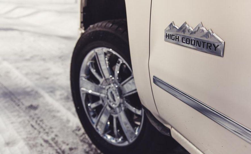 2014 Chevrolet Silverado 1500 High Country - Slide 22