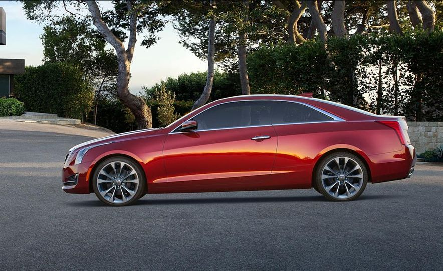 2015 Cadillac ATS coupe - Slide 4