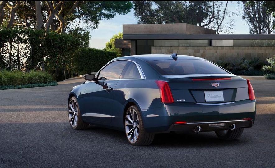 2015 Cadillac ATS coupe - Slide 13