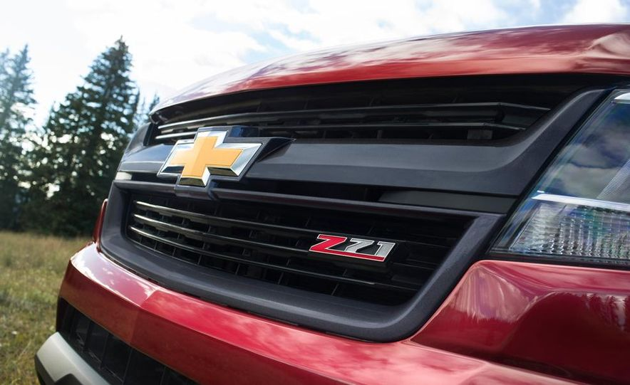 2015 Chevrolet Colorado Z71 - Slide 10