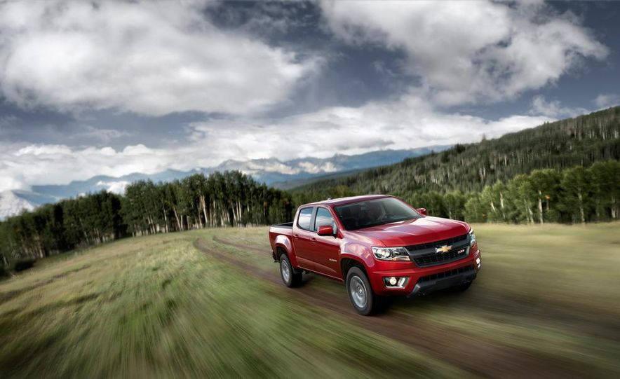 2015 Chevrolet Colorado Z71 - Slide 3