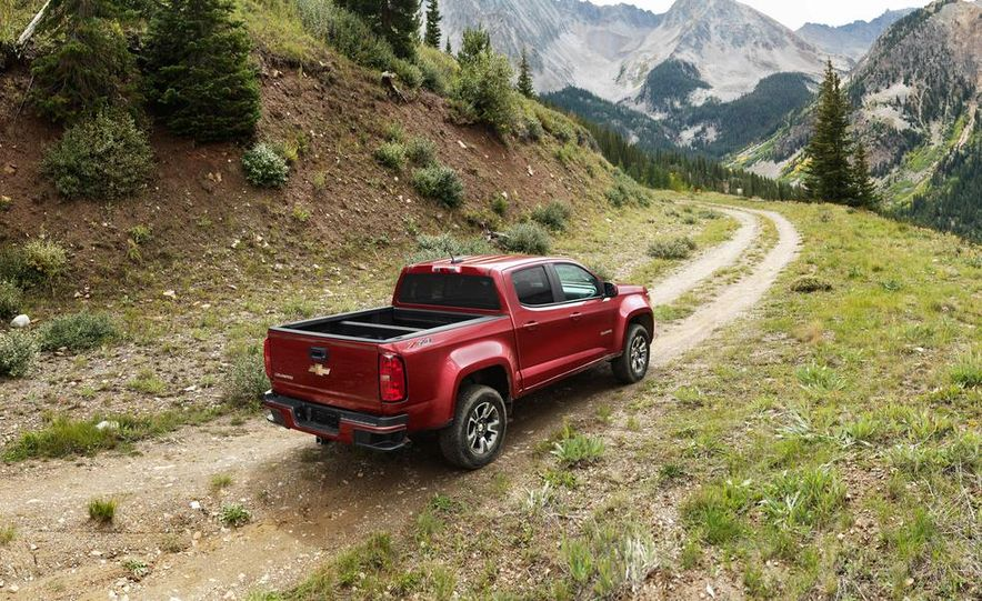 2015 Chevrolet Colorado Z71 - Slide 4