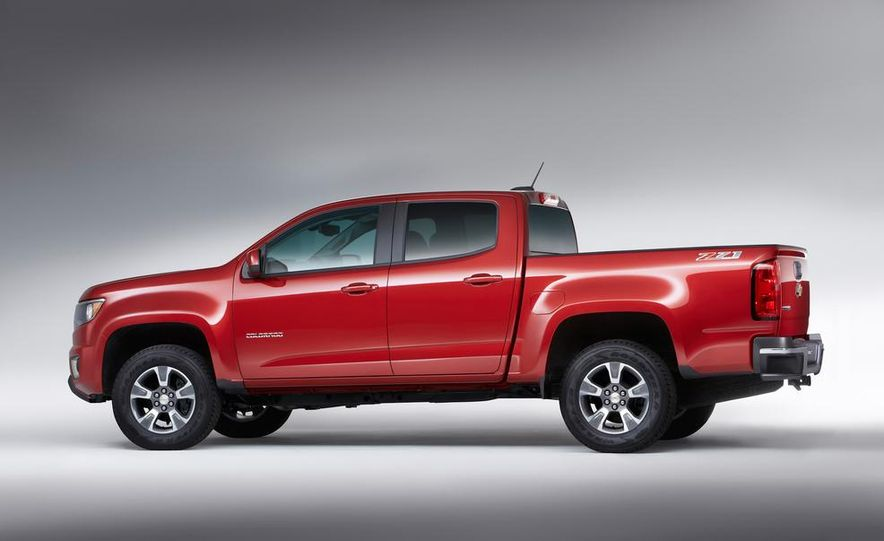 2015 Chevrolet Colorado Z71 - Slide 11