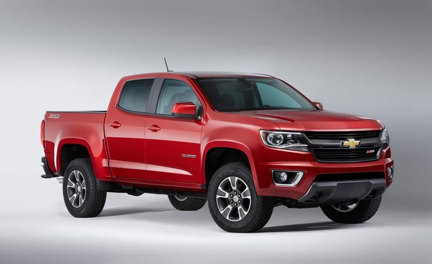 2015 Chevrolet Colorado Z71 - Slide 1