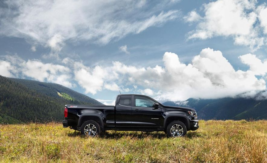 2015 Chevrolet Colorado Z71 - Slide 14