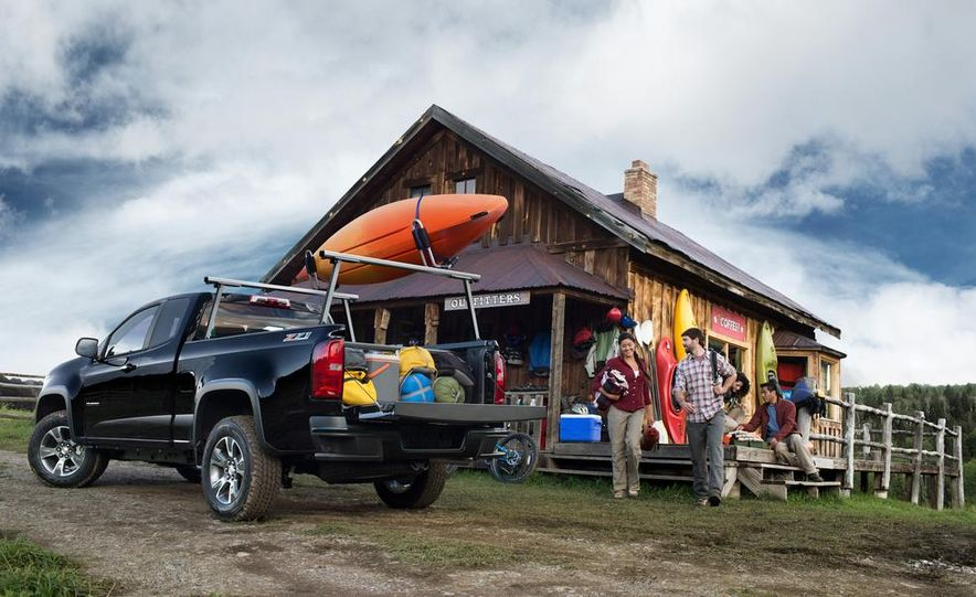 2015 Chevrolet Colorado Z71 - Slide 16