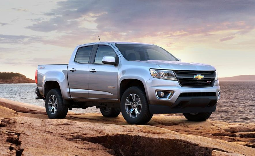 2015 Chevrolet Colorado Z71 - Slide 19