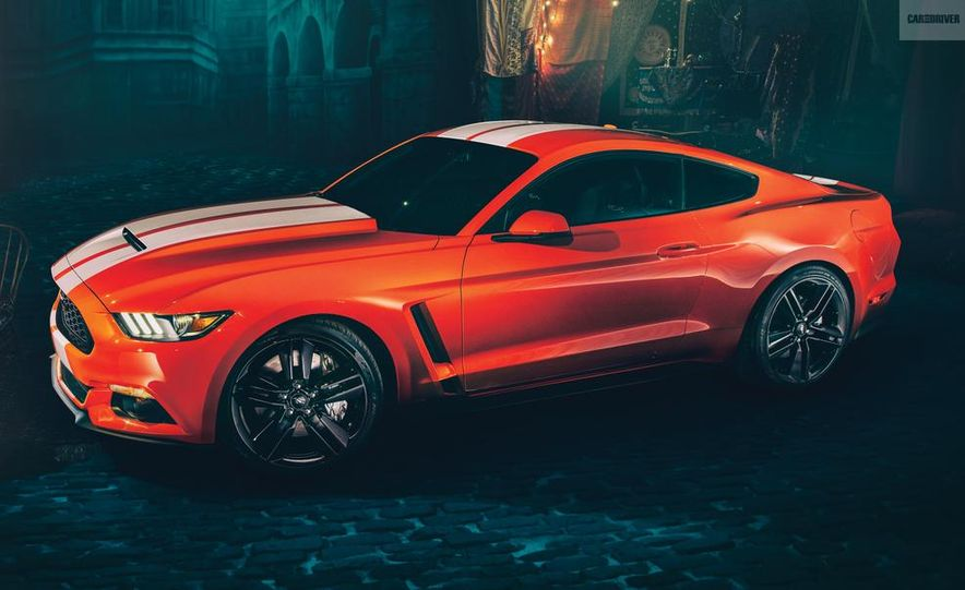 2016 Ford Mustang Shelby GT350 (artist's rendering) - Slide 1