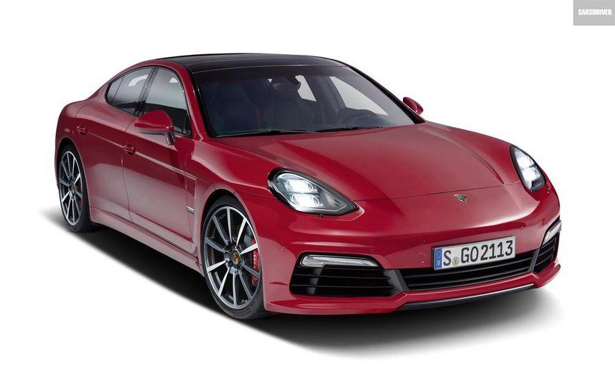 2017 Porsche Small Sedan (artist's rendering) - Slide 1