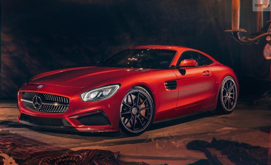 2016 Mercedes-Benz GT AMG (artist's rendering) - Slide 1