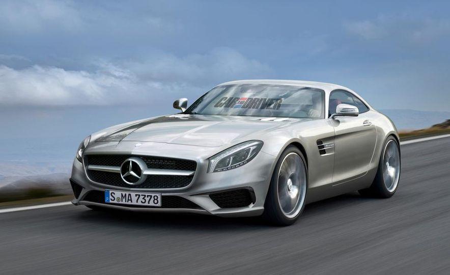 2016 Mercedes-Benz GT AMG (artist's rendering) - Slide 2