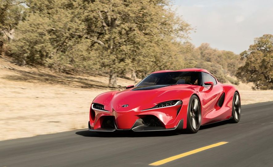 2018 Toyota Sports Car concept  Photo Gallery  Car and Driver