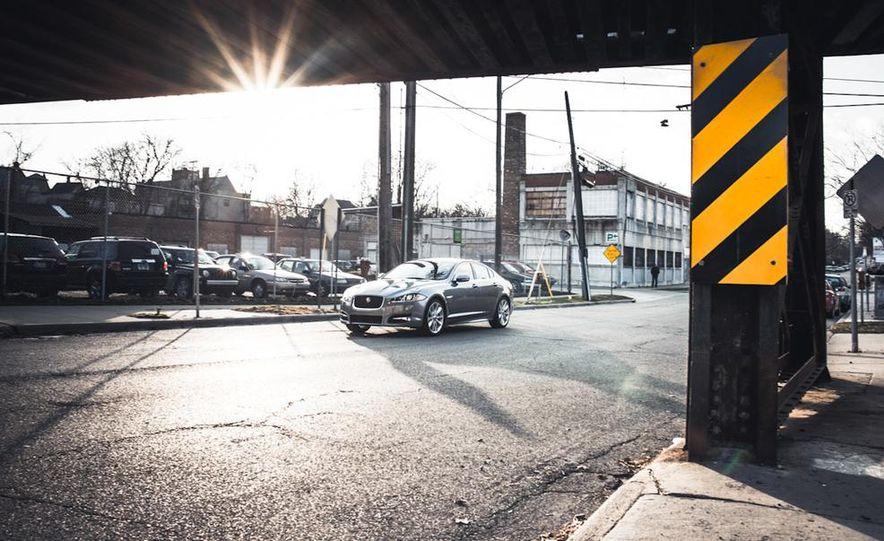 2016 Jaguar XE (artist's rendering) - Slide 13