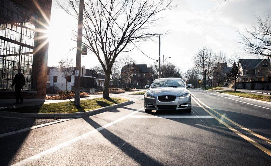 2016 Jaguar XE (artist's rendering) - Slide 24