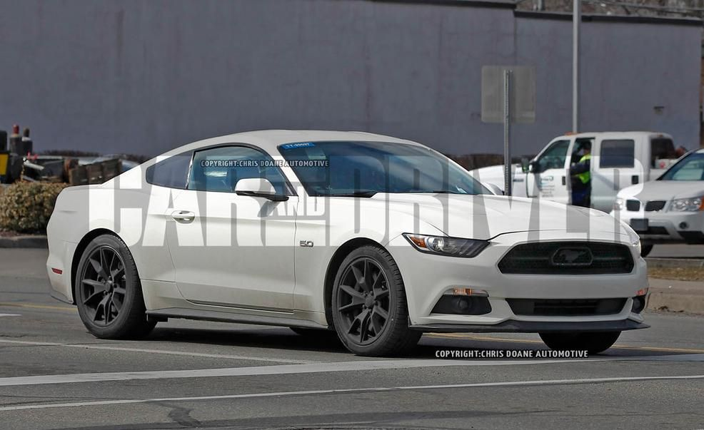 2015 Ford Mustang 50th Anniversary Edition Spy Photos  Future