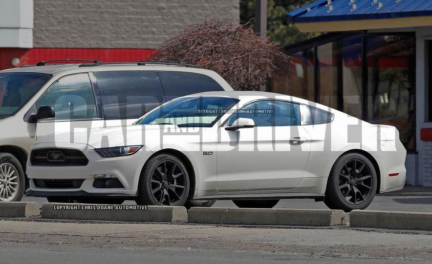 2015 Ford Mustang 50th Anniversary Edition (spy photo) - Slide 2