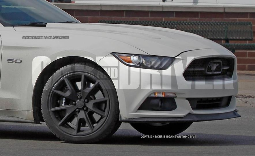 2015 Ford Mustang 50th Anniversary Edition (spy photo) - Slide 9