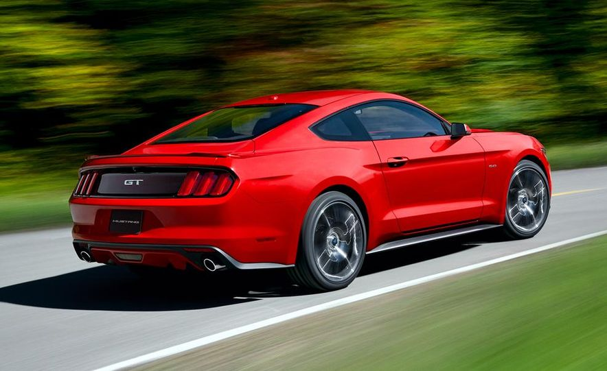 2015 Ford Mustang 50th Anniversary Edition (spy photo) - Slide 15